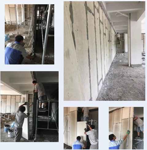 Wall Panel Installation