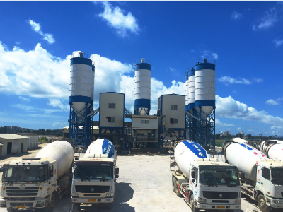 concrete batch plant price